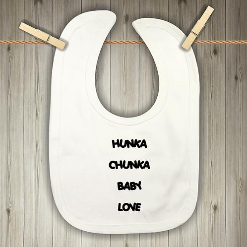 Hunka Chunka Baby Love Baby Bib