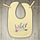 Thumbnail: Wild One Embroidered Baby Bib