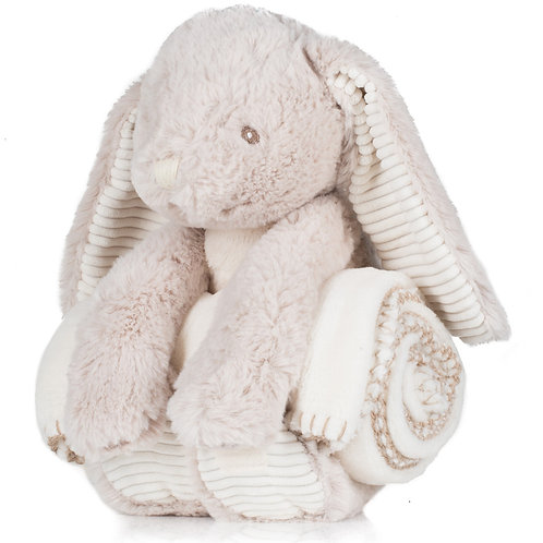 Rabbit & Blanket Set