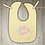 Thumbnail: Little Sister Embroidered Baby Bib