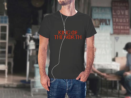 King of the North - Game of Thrones Inspired Men's T-Shirt