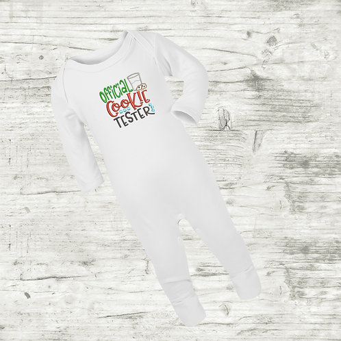 Official Cookie Tester Sleep Suit