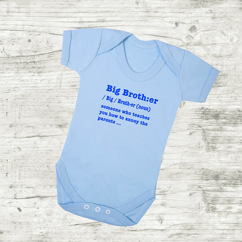 Big Brother Meaning Bodysuit