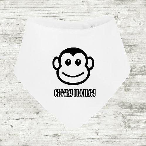 Cheeky Monkey Bib