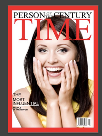 Personalised Time Magazine Cover