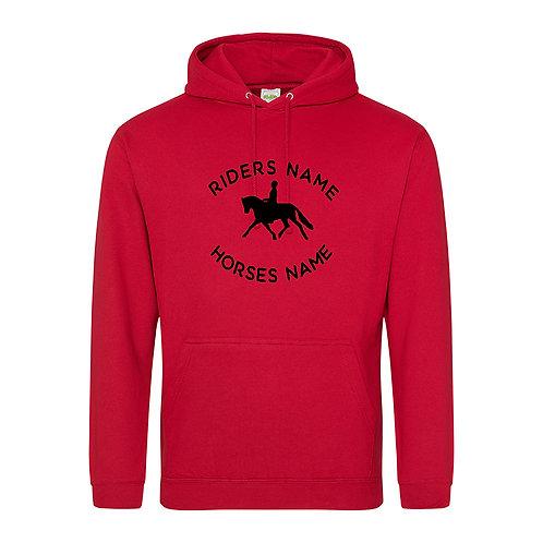 Personalised Equestrian Hoodie