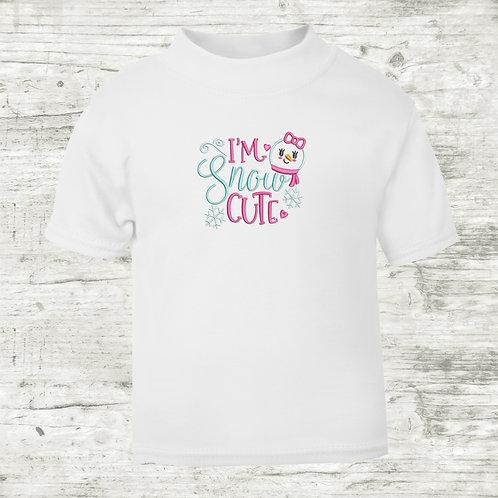 I'm Snow Cute T-shirt