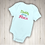 Thumbnail: Daddy Did My Hair Embroidered Baby Suit