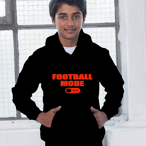 Football Mode On Children's Hoodie