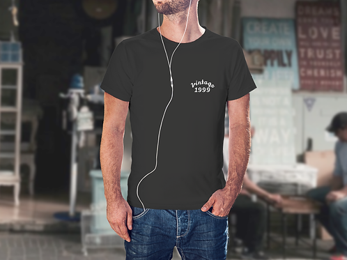 Vintage Small Logo Mens T-Shirt