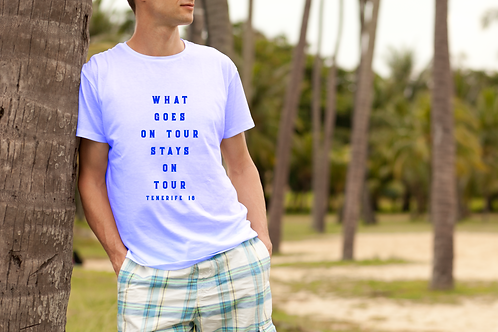 What Goes on Tour Stays on Tour Mens Holiday T-Shirt