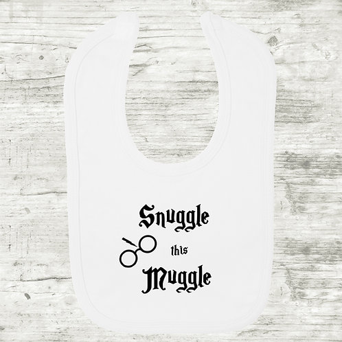 Harry Potter Snuggle This Muggle Bib