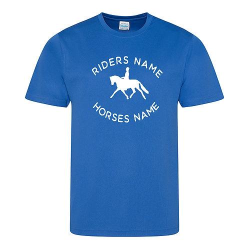 Personalised Equestrian UV30+ T-Shirt