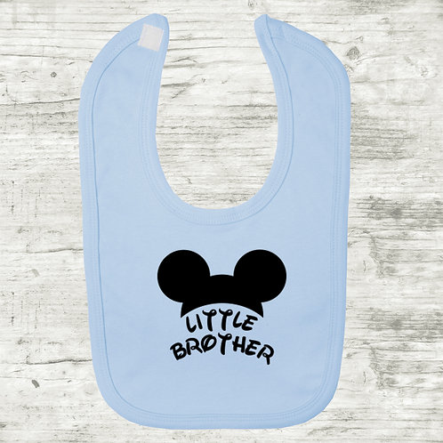 Little Brother Mickey Mouse Bib