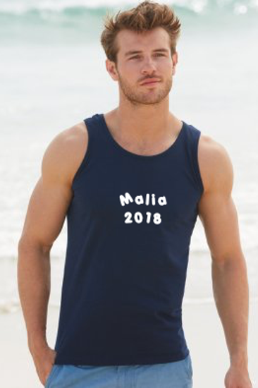 Mens Holiday Athletic Vest Top