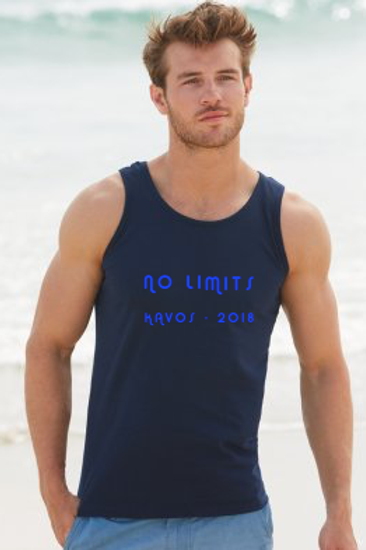 No Limits Mens Holiday Athletic Vest Top
