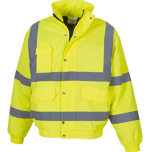 Hi Visibility Adults Bomber Jacket