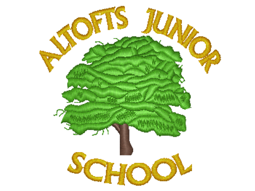Embroidered School Logo - Altofts Junior School