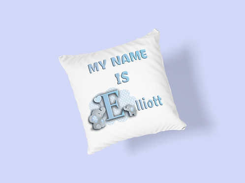 Supersoft Personalised Cushion - My Name Is ......
