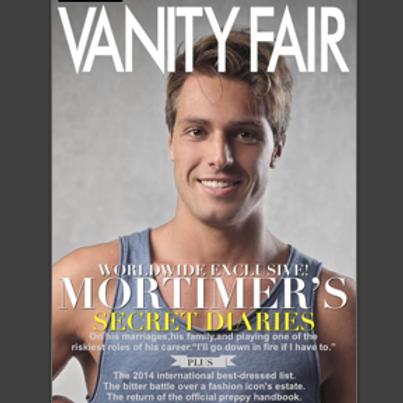 Personalised Vanity Fair Magazine Cover