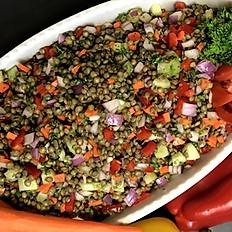 Lentil Vegetable Salad