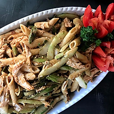 Sesame Chicken With Penne