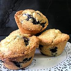 Blueberry Peach Muffin