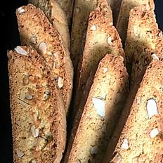 Homemade Almond Biscotti