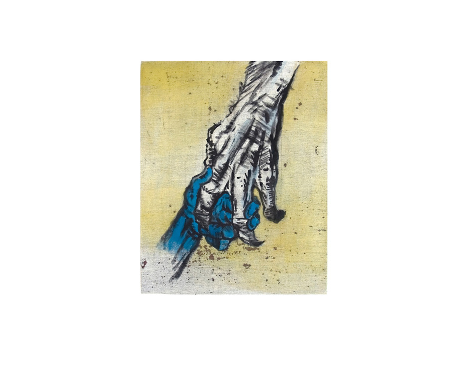 Vertrau mir_trust me, 2011, 40 x 30 cm