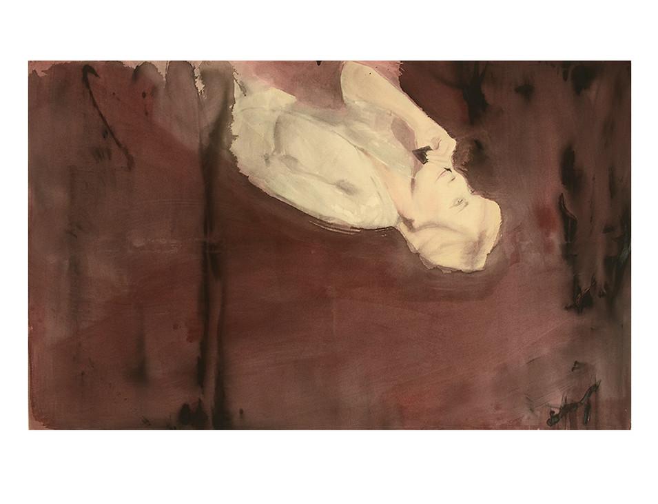 come, 2014, 120 x 200 cm