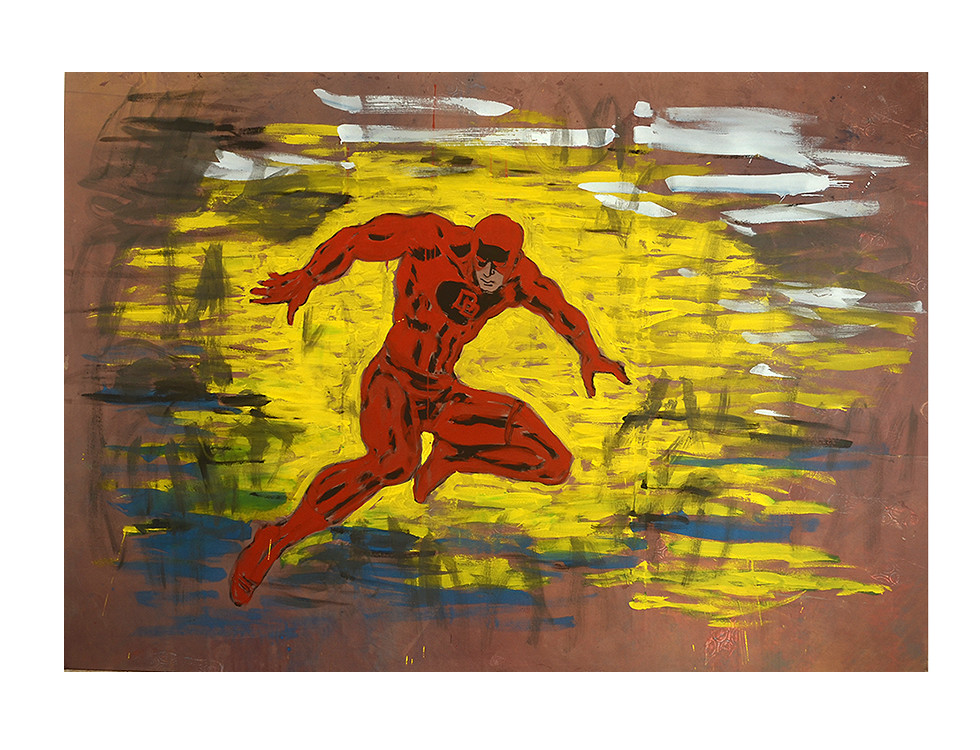 Daredevil, kein Problem_daredevil, no problem, 2014, 200 x 280 cm