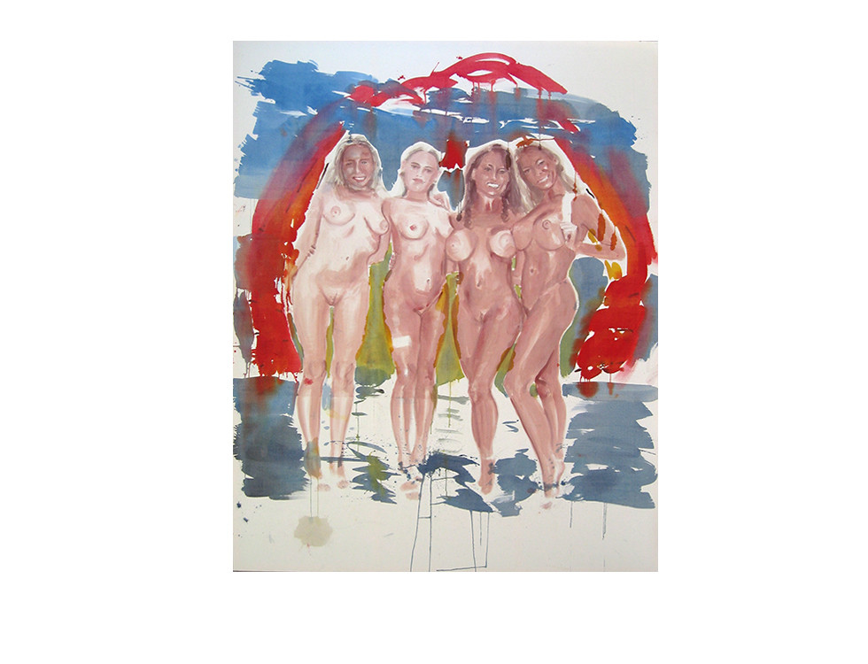 Vier_four, 2004, 290 x 230 cm