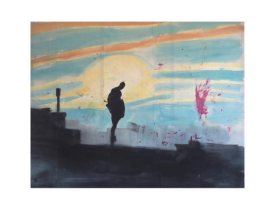 Ich bin so müde, manchmal_I am so tired, sometimes, 2011, 195 x 250 cm