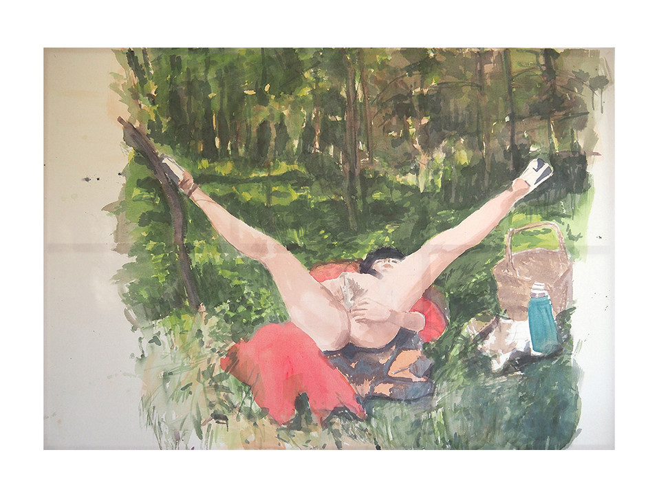 Picknick_picnic, 2003, 195 x 280 cm