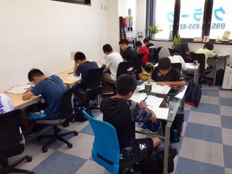 実力テスト対策特訓会 開催中