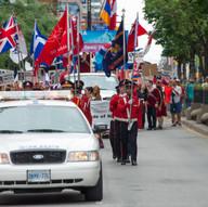 Bulgaria - Parade of Nations - Toronto - Canada 150