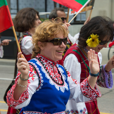 Bulgaria - Parade of Nations - Toronto - Canada 150