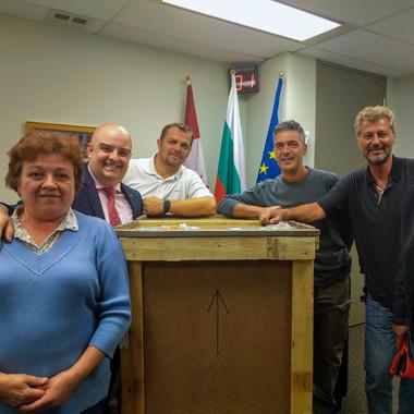 Първи паметник на Васил Левски в Канада