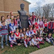 "Roses of Bulgaria Initiative - Bulgarian Ministry of Education and Science - Bulgarian School ""Kaneff"" - ""St. Dimitar"" Bulgarian Eastern Orthodox Church"
