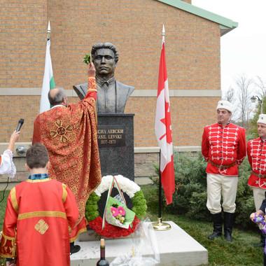 Откриване на първия паметник на Апостола на свободата Васил Левски в Канада