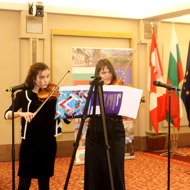 Day of Bulgaria in the Parliament of Canada - Ottawa