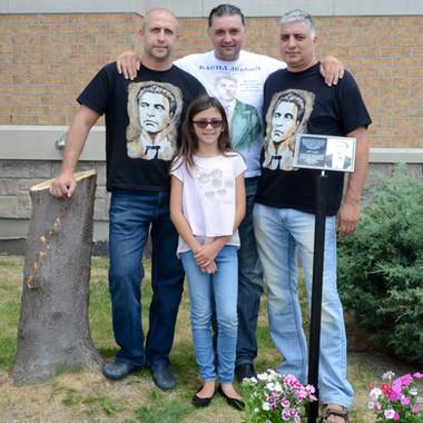 """Паметник на Васил Левски в Канада - първа копка - 16 юли 2017 г., БИПЦ """"Св. Димитър"""", Брамптън"""