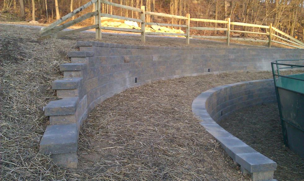 HSL - Drainage 6 w-retaining wall