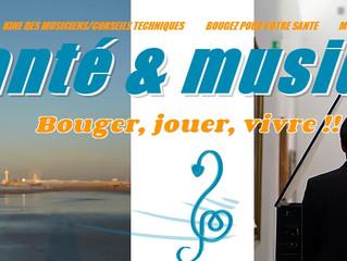 Olivier Garde : Musique et santé.