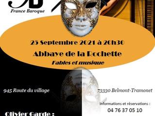 La Folle Histoire des claviers, 25 septembre en Savoie
