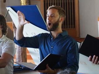 Augustin Laudet, Classe de chant de l'Académie des musiques anciennes en Pays de Savoie 2021