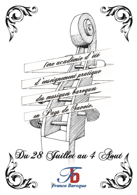 1ére Académie d'enseignement pratique des musiques baroques en Pays de Savoie, Académie de musique ancienne, stage de musique baroque,stage d'été de musique, stage de clavecin, stage de violon baroque, stage de viole de gambe, kinésithérapie appliquée aux musiciens, stage d'ingénierie du son