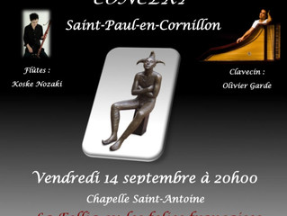 Prochain concert dans la Loire, A Saint-Paul-en-Cornillon