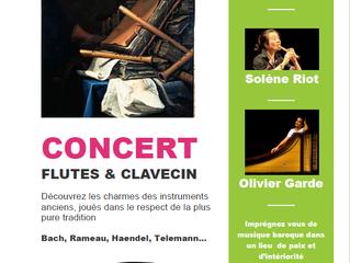 Concert des professeur de l'Académie France Baroque en Pays de Savoie le 25 juillet