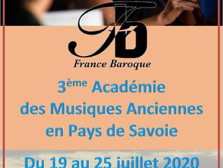 Stage de Musique Baroque 2020